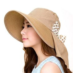 UV Sun hats women summer hats Sun (Brown) 30th floor http://www.amazon.com/dp/B01C41HI7K/ref=cm_sw_r_pi_dp_oeF.wb0RP3BZD