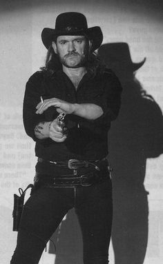 Lemmy Kilmister it's rock n roll!