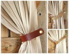 Image result for industrial curtain tie backs