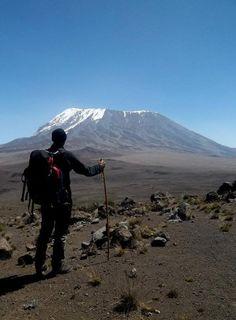 Conquering Kilimanjaro. Photo taken by Barron King on Intrepid's Serengeti & Kilimanjaro Trip