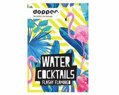 Zet Vamos a la playa op repeat, het 'Flashy Flamingo' Watercocktailboek van Dopper is nu bij ons verkrijgbaar! Haal je cocktailtools tevoorschijn en shake die Dopper! #dopper #watercocktail #flashyflamingo #drinkoftheday #summervibes #together #happy #celebrate #love #feelgood #shakerboys #cocktails #receptenboek #smaakwater #smaakexplosies #lifestyle #cocktailkaart #exotisch #lycheelicious #rhubarbapapa #piñadopper #shakeit