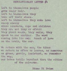 The Hippie Dream....by Diane Di Prima