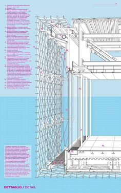 50 of the Best Facade Construction Details,Facade detail Sea Pavillion Architecture Design Concept, Detail Architecture, Architecture Drawings, Facade Design, Amazing Architecture, Chinese Architecture, Architecture Office, Futuristic Architecture, Revit Architecture