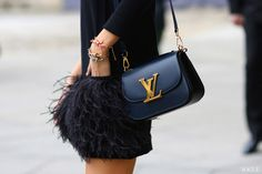 LV and feathers