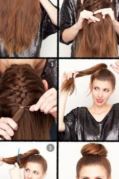 It's a cute way to wear your hair<3