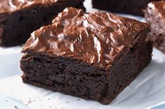 How come I've never thought of making the famous Wallace brownies as a snack for Children's Church. Brownie Low Carb, Brownie Bar, Healthy Brownies, Brownie Points, Fudgy Brownies, Chocolates, Great Recipes, Favorite Recipes, Healthy Recipes