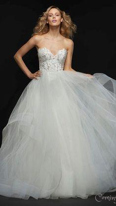 cb240199d48 Dayton Bridal gown. Blush by Hayley Paige  blushbyhayleypaige Blush By  Hayley Paige
