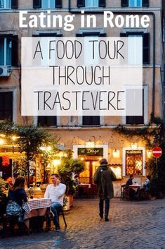 Eat your way through Rome's Trastevere neighborhood http://anamericaninrome.com/wp/2016/04/a-rome-food-tour-through-trastevere/ #italytravel