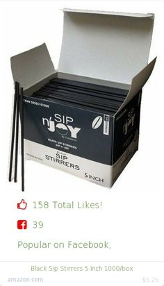 Top christmas gift on Facebook.  Top christmas gift on undefined 158 people likes on Internet. 39 facebook likes. 119 thumbs-up on .undefined crystalware amazon christmas gift. black sip stirrers 5 inch 1000 box from amazon christmas gifts. http://www.MostLikedGifts.com/top-popular-christmas-gifts/amazom-christmas-gift-B00B4M83MU-black-sip-stirrers-5-inch-1000-box