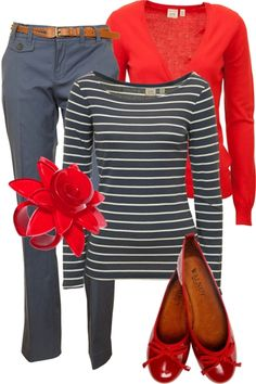 Stripes, Reds and Blue this combination was made for me :)