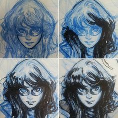 The Art of Olivier Coipel. This fan page is NOT run by Olivier, just by one who appreciates his attention to detail and his contribution to. Comic Book Layout, Comic Book Pages, Comic Book Artists, Comic Artist, Comic Books Art, Ms Marvel, Marvel Comics, Ink Illustrations, Illustration Art