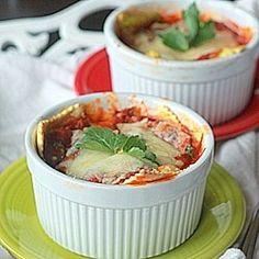 Individual ravioli lasagnas by kitchentreaty
