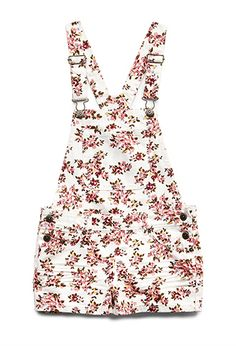 Floral Fun Overalls (Kids) | FOREVER21 girls grabbed these for Mace, can't wait for the sunshine :)
