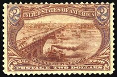 United States, Michel 125 - 2 Dollar omaha, unused fresh extremely fine copy (catalogue value: 2000.- Euro)  Lot condition *  Dealer Jennes and Klüttermann  Auction Starting Price: 500.00 EUR