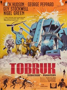 16 Best Tobruk Movie Posters Images In 2013 Film Posters