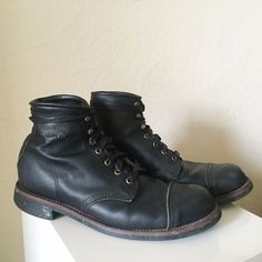 Chippewa Home Stead Boot, Black - size 11 #Chippewa #HomeStead