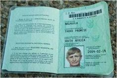 Top 10 South African names - courtesy of our ever-inventive Home Affairs