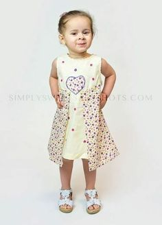 NWT Beetlejuice of London Girl's Multi Color Floral w/ Cream Overlay Smock Dress ONLY $9.99