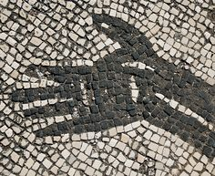 Detail of Roman Mosaic by davetonkin, via Flickr