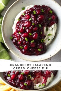 Our Sweet and Spicy Cranberry Jalapeno Cream Cheese Dip, is an easy and addictive party snack for the holidays! It's rich and creamy with a pop of berry flavor! #aspicyperspective #foodblog #foodie #instayum #hungry #thekitchn #onmytable #dailyfoodfeed #foodlove #foodpic #instafood #foodstagram #tasty #cranberryjalapenodip #cranberrydip #creamcheesedip #jalapenocreamcheese #cranberries #cranberry #jalapeno