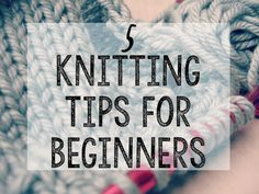 Knitting is actually quite easy once you've figured it out. The hard part? Learning the basic stuff. It's extremely overwhelming.