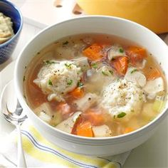 Taste of Home How to Make Chicken Noodle Soup Recipes - Break out your big bowls for this easy homemade recipe. Our Test Kitchen guide shows you how to make the best chicken noodle soup your stockpot's ever seen.