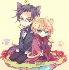 Black Butler!! Claude and Alois