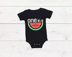 One In A Melon, Onesies, Bodysuit, Rompers, Trending Outfits, Birthday, T Shirt, Etsy, Clothes