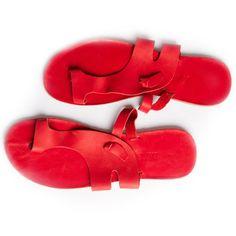 Marjorie's Bazaar, Arezzo Slippers Men's Red