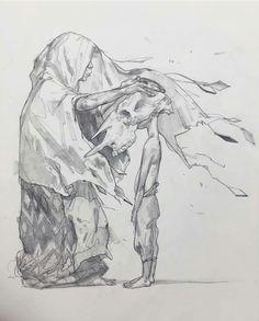 super cool drawing by Eliza Ivanova