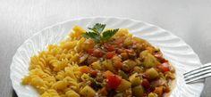 Kuchnia bez glutenu (też wegańska od maja 2017 r.): Gulasz cukiniowo-paprykowy z makaronem (wegański i...