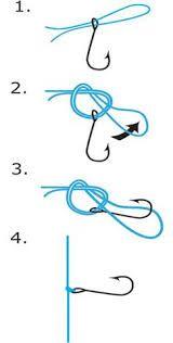 Tying a drop shot hook Fishing Hook Knots, Fishing Rigs, Bass Fishing Tips, Surf Fishing, Crappie Fishing, Saltwater Fishing, Ice Fishing, Best Fishing Knot, Fishing Basics