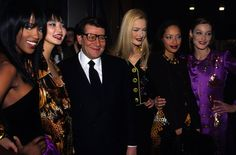 Saved by Barb Quick  FASHION FIRSTS: YVES SAINT LAURENT - THE DAPIFER