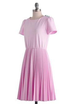 All's Fair Dress, #ModCloth >> Would be perfect with a kelly green belt too.