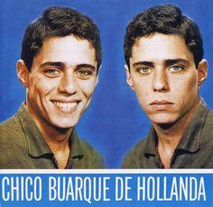 Figura 5 – Capa do primeiro LP de Chico Buarque (Fonte: Chico Buarque)