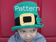 St Patricks Day Hat Crochet PATTERN by taraduff on Etsy, $5.00