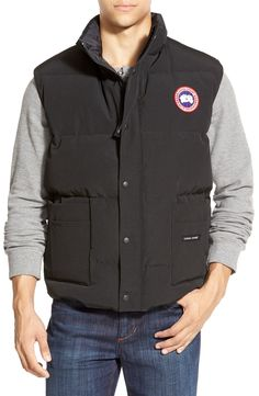 Canada Goose' Freestyle Down Puffer Vest, Red