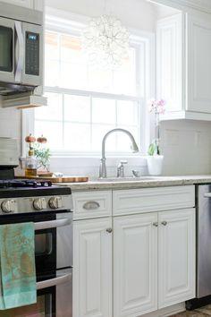 Kitchen Lighting - Home Tour