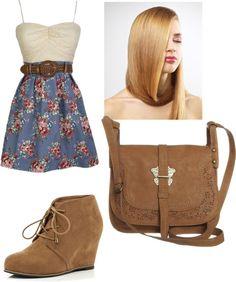 """Farm Girl Fashionista"" by jackielaguerre ❤ liked on Polyvore"