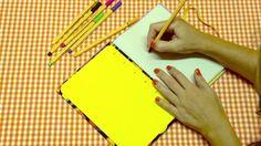 Vídeo artístico que criamos para mostrar todos os passos de como fazer um caderno manualmente. Encadernação manual artística. Muita diversão e amor ao papel... em 7 minutos! ♥ [www.aspapeleiras.com.br]