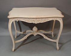 Scandinavian Rococo Table