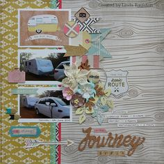 Lou's World: Crate Paper Journey for All About Scrapbooks