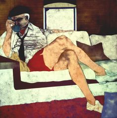 Marrano (The Secret Jew), 1976  R.B. Kitaj