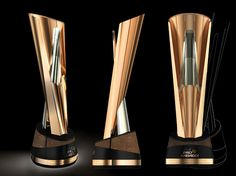 This Coveted ProKabaddi League Season 2 Trophy Was Conceptualised And Designed By Renowned Product Designer Michael Foley Made Of Faux Rose Gold