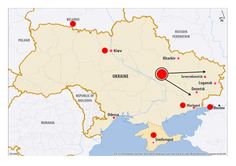 English Map on Ukraine about Food and Nutrition, Health, IDPs and more; published on 03 Mar 2015 by ICRC Family News, Laptop Repair, Ukraine, Connection, Messages, Places, People, Text Posts, Folk