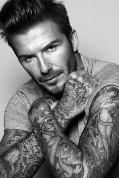David Beckham has become the first global ambassador for Biotherm Homme