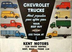 Carros y Clasicos - Chevrolet 1947 -1955 Pickup y panel