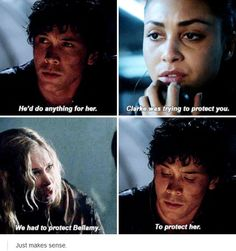 Bellamy Blake and Clarke Griffin The 100 Bellarke Bob Morley and Eliza Jane Taylor Best Tv Shows, Best Shows Ever, Favorite Tv Shows, Bellarke, Captain Swan, Delena, Movies Showing, Movies And Tv Shows, Malec