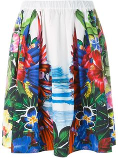 Dsquared2 tropical print skirt