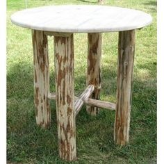 Log Furniture - Bistro Table - Free Shipping 48 States